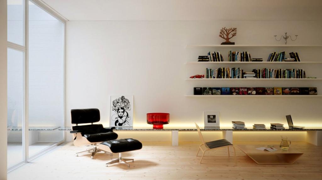 3d vray max house room light interior