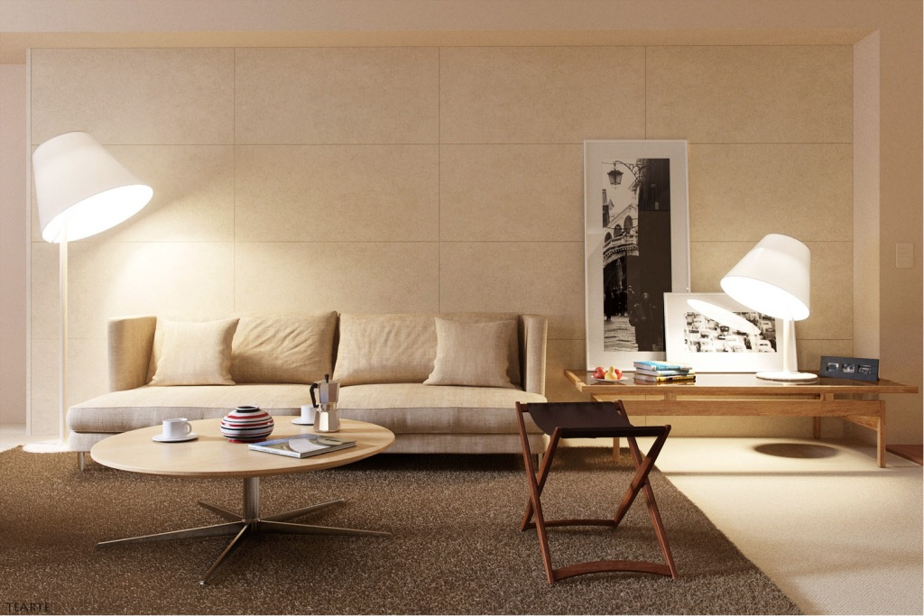 interior vray 3d max furniture
