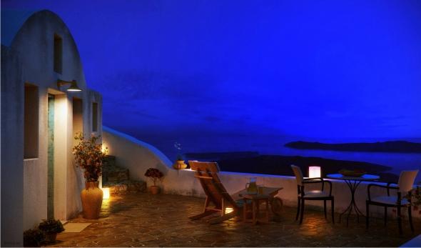 Santorini noite