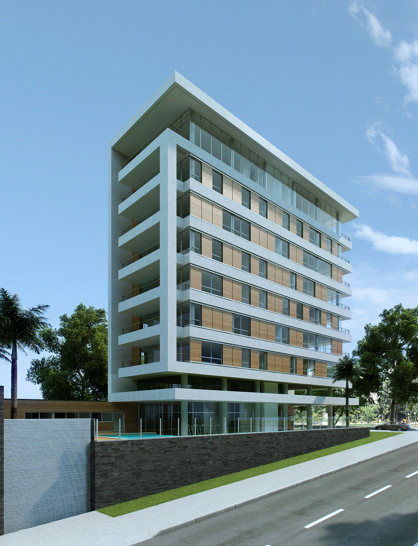 Contemporary residential buildings the for Modern residential building design